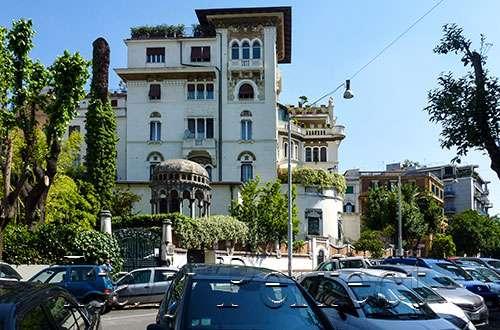 Building in Prati, Rome