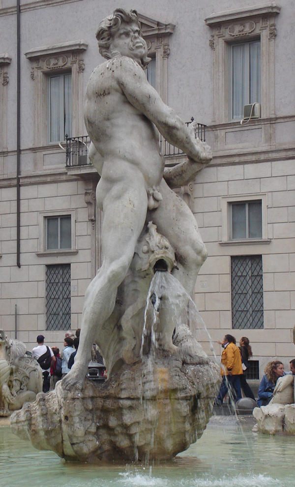 The Fountain of Moors. Piazza Navona