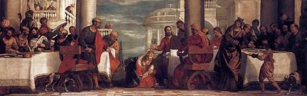 Veronese Paolo: Feast at the House of Simon
