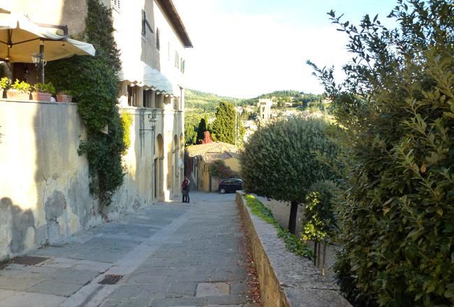 Fiesole Streets