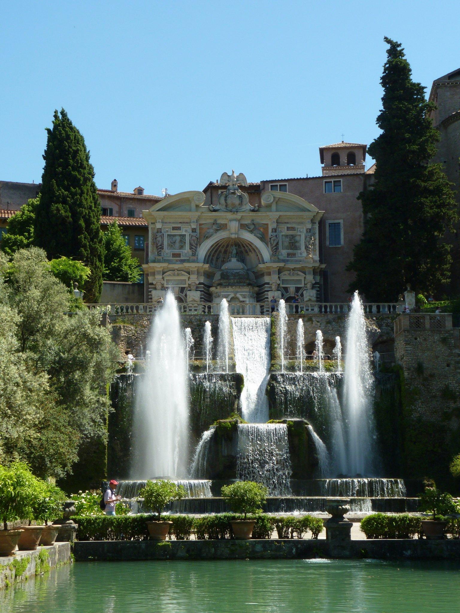 Villa Deste Tivoli Italy