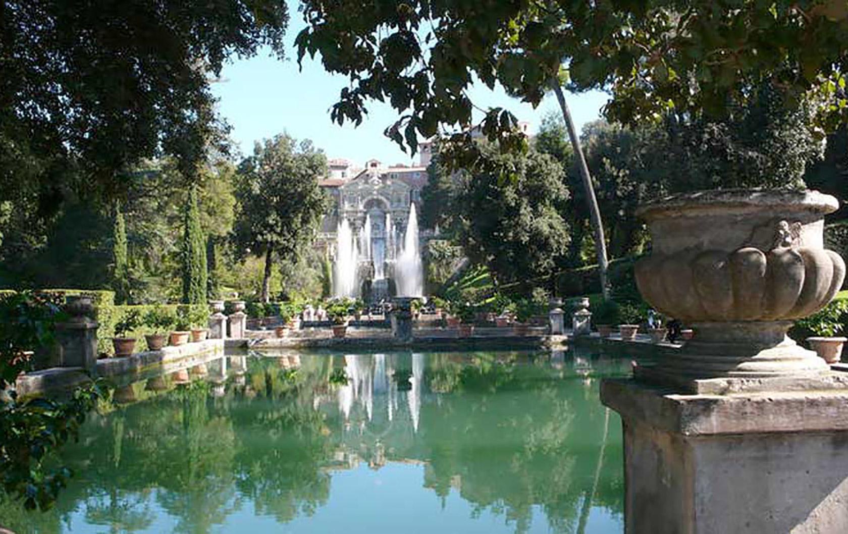 The Magical Fountains of Villa d'Este in Tivoli