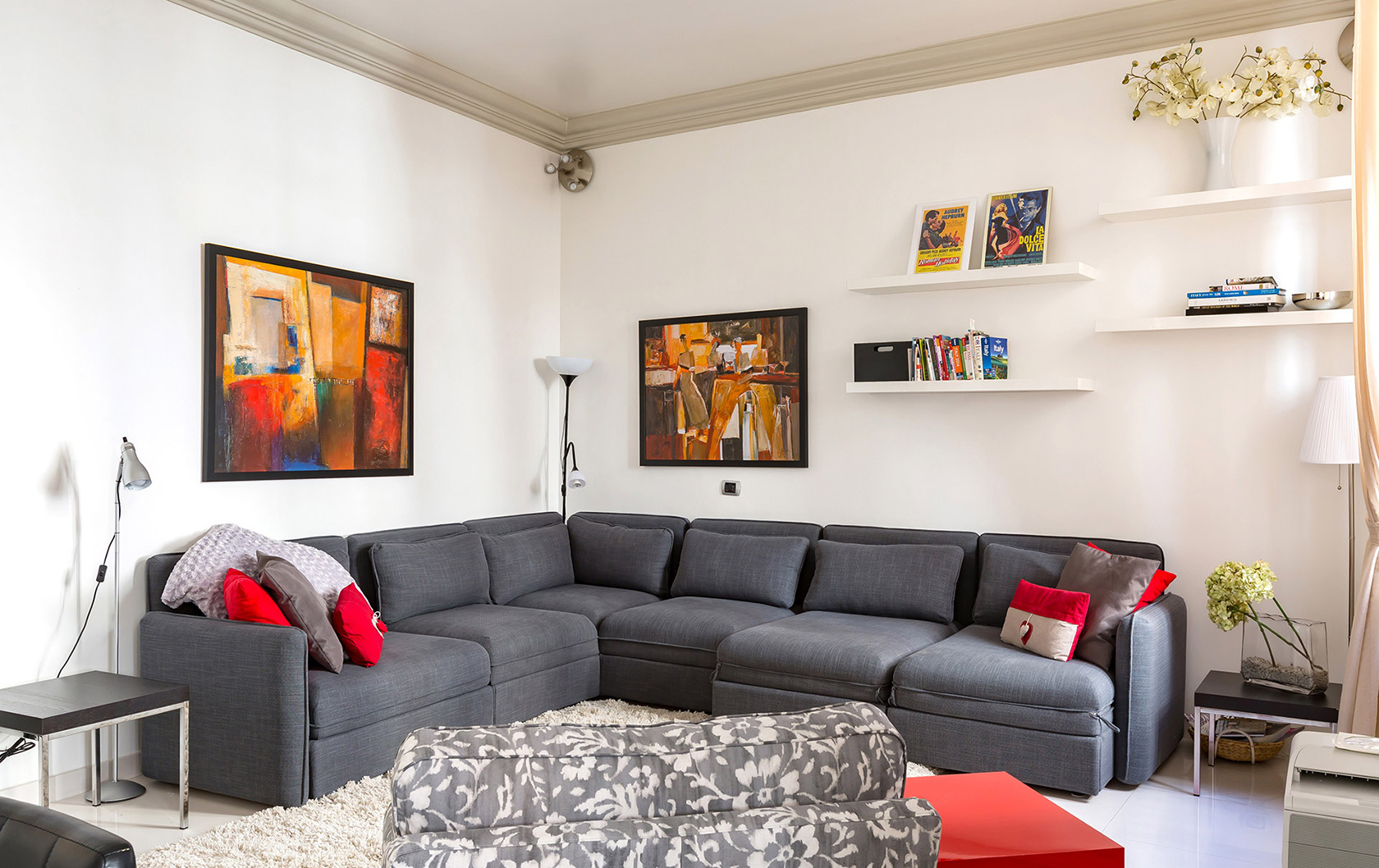 Rome Sabini Apartment Combines Great Location, Modern Conveniences