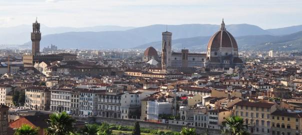 Piazzale Michelangelo, Firenze, Toscana, Italia