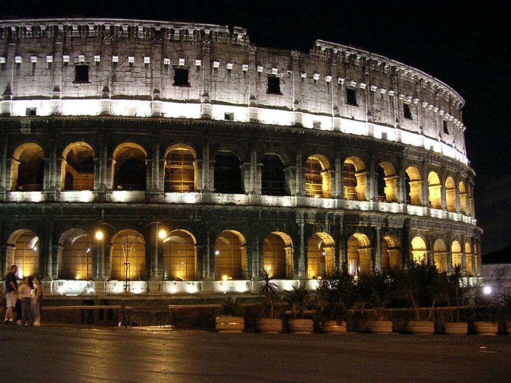 Roma-colosseonotte