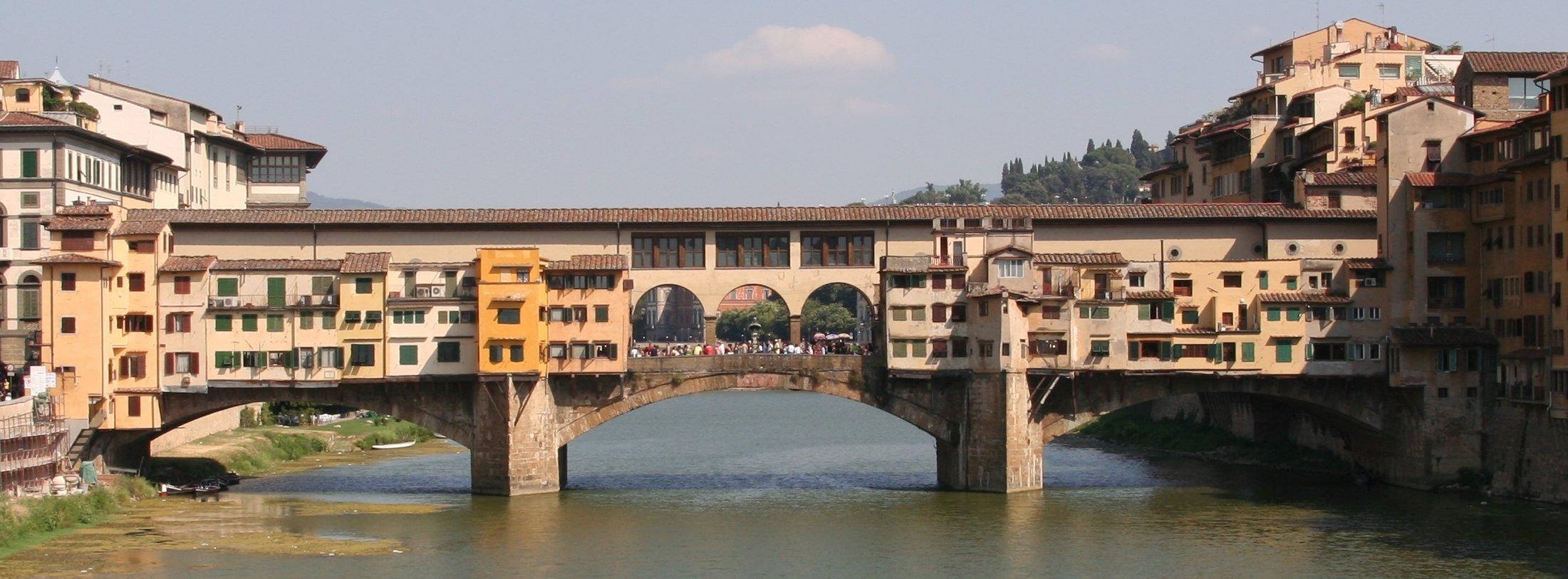 Florence s bridge of gold ponte vecchio italy perfect for Ponte sopra i disegni del garage