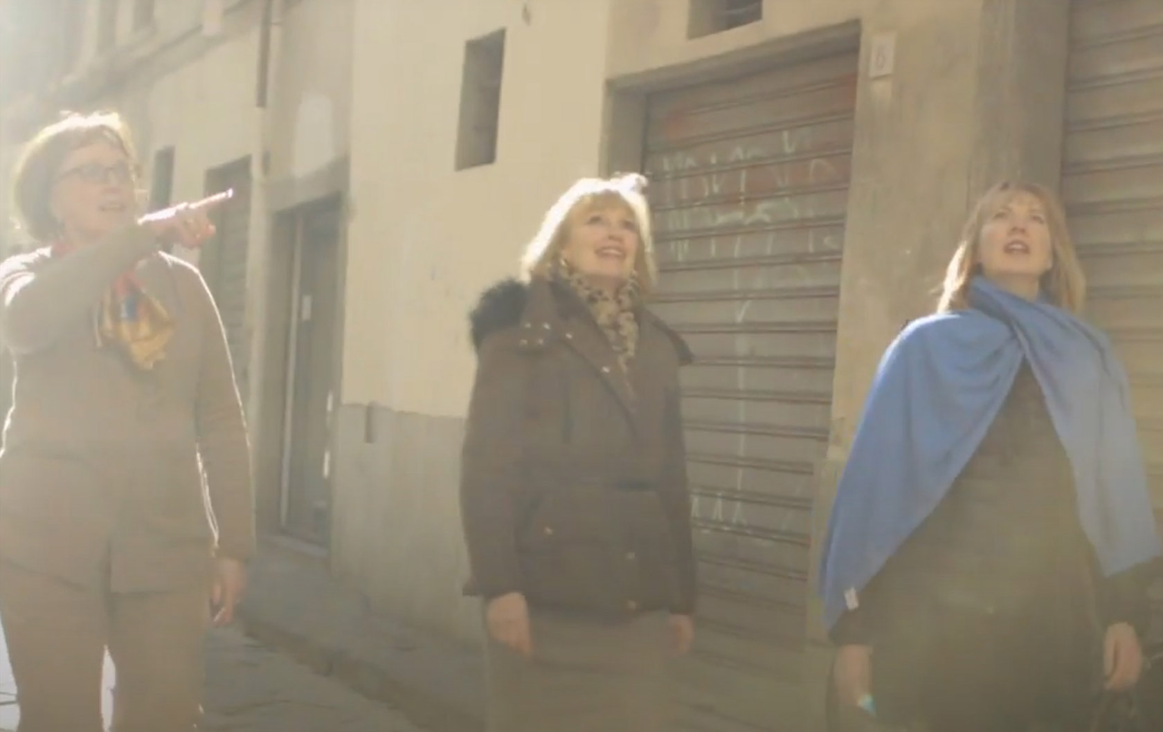 Behind-the-Scenes Italy Perfect Florence Video