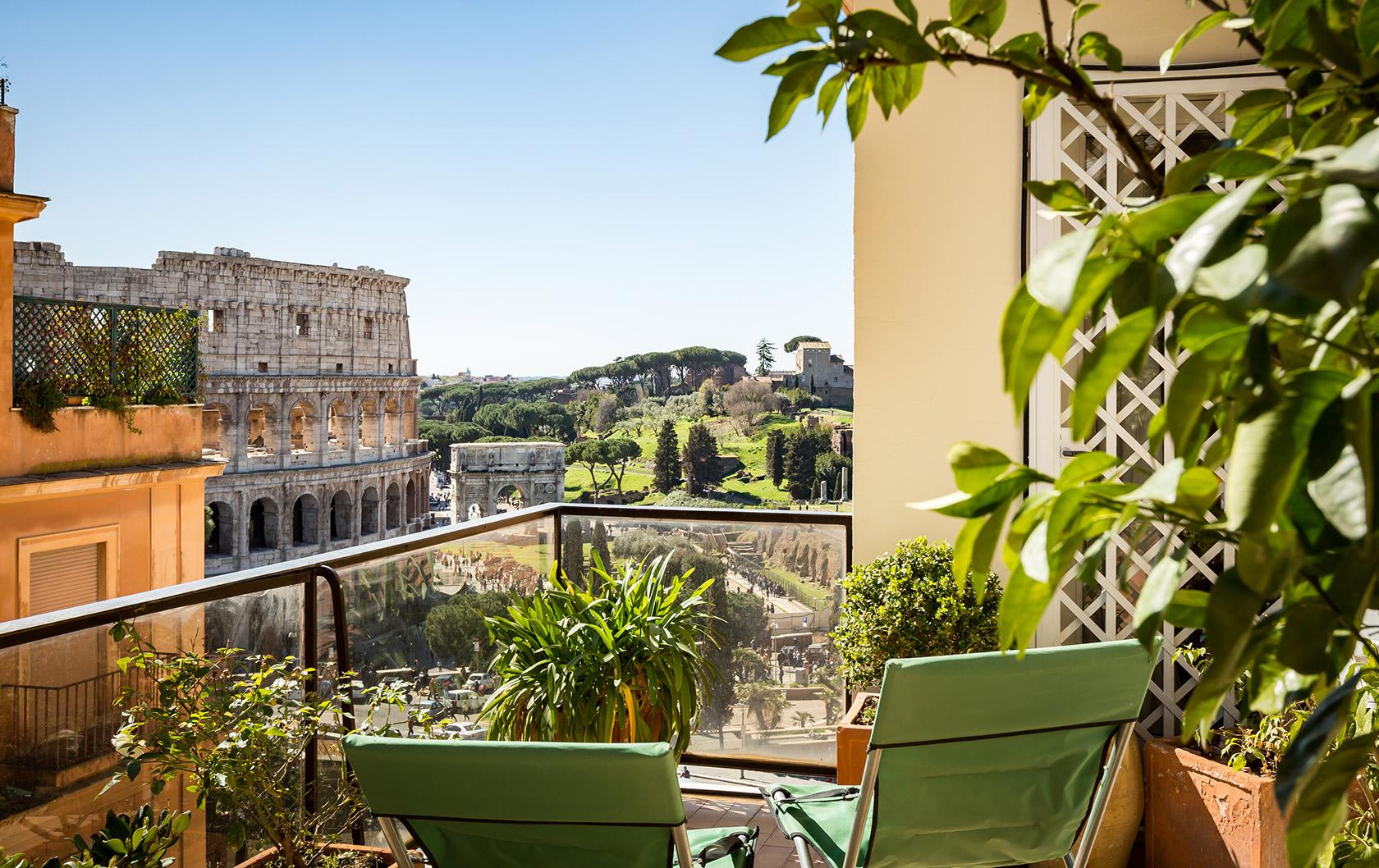 A Dreamy Terrace in Rome
