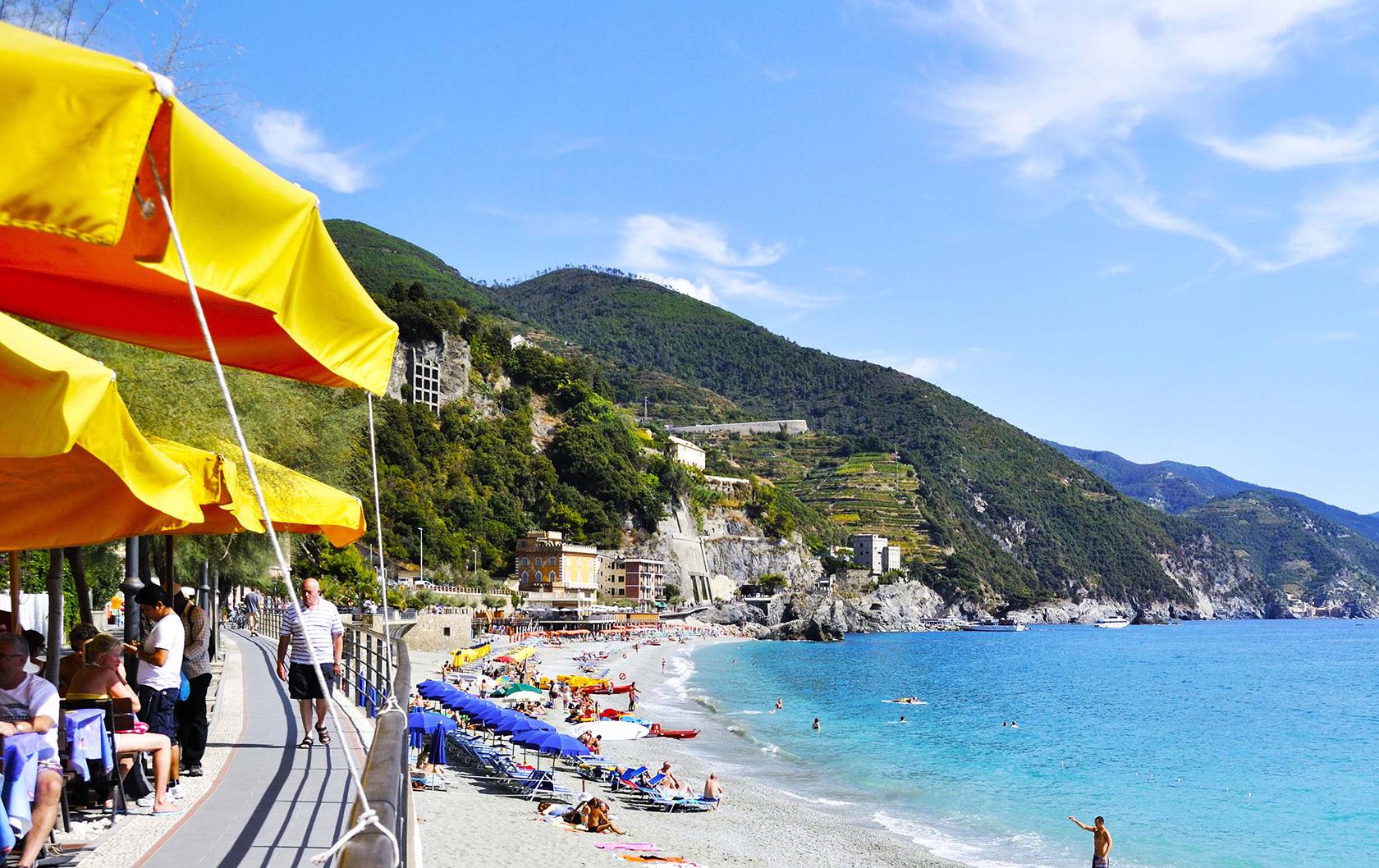 Enjoying the Beach in Italy