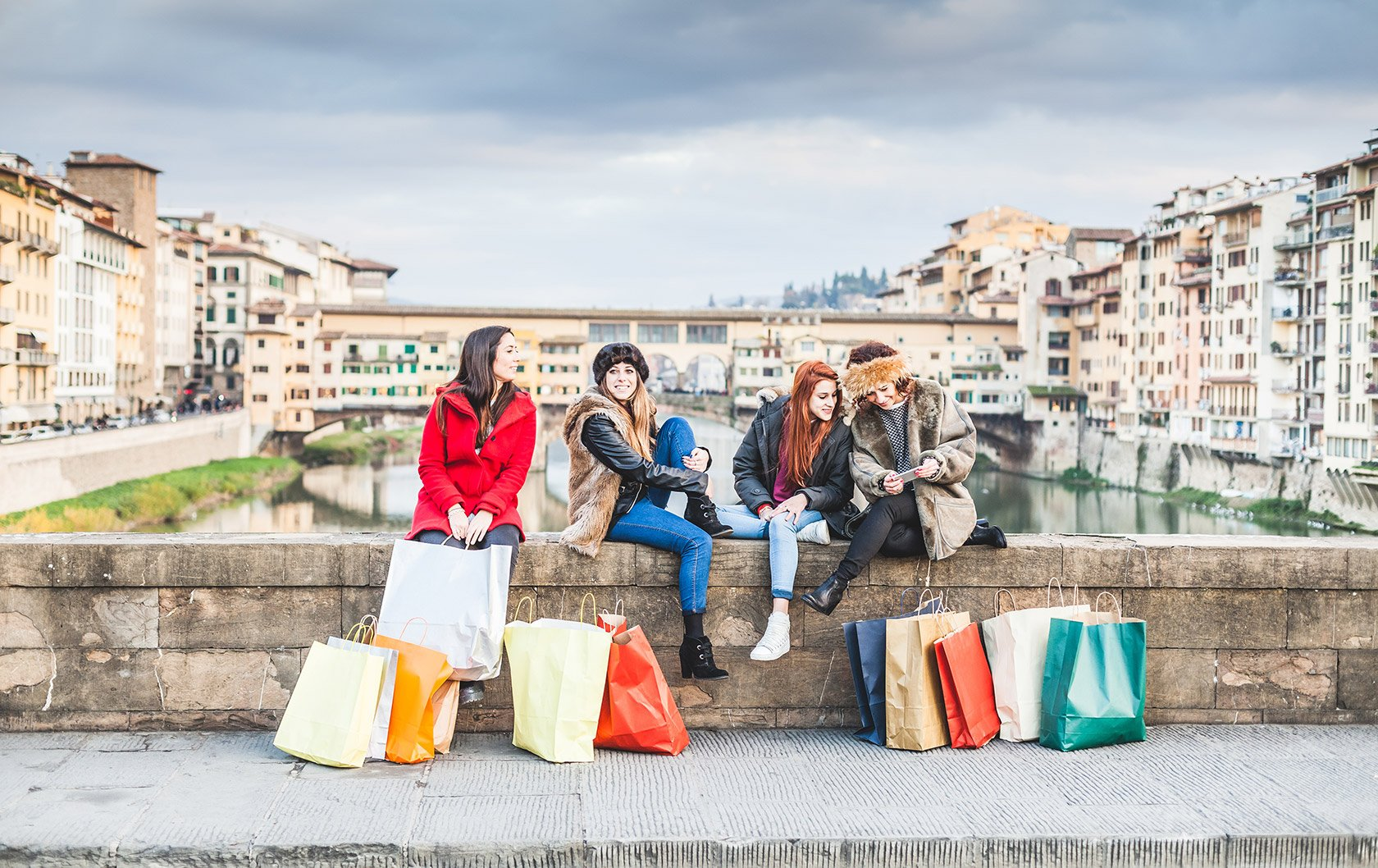 Shopping with a Florence Fashion Expert