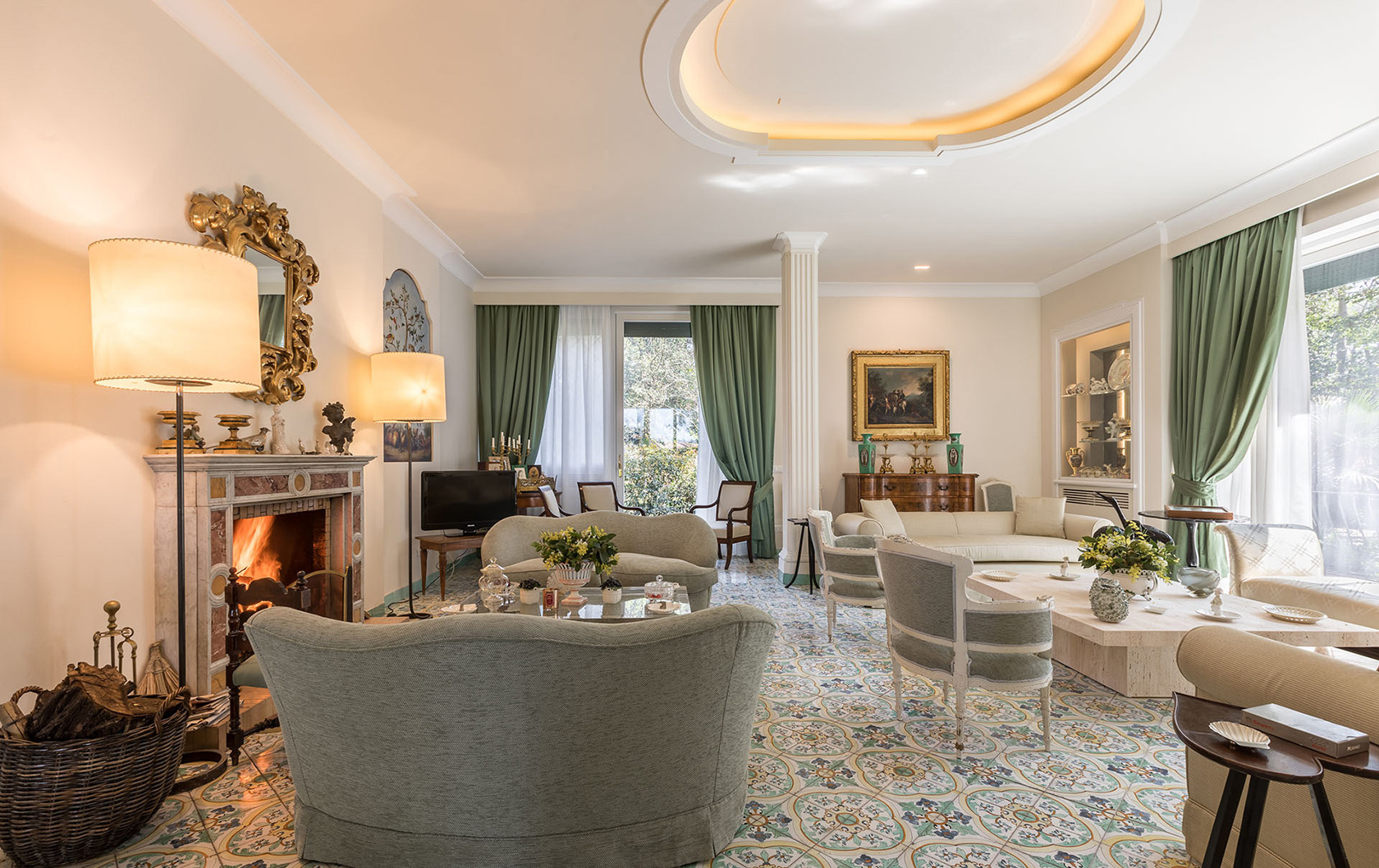 Spectacular Vacation Villas Right in the Center of Rome!