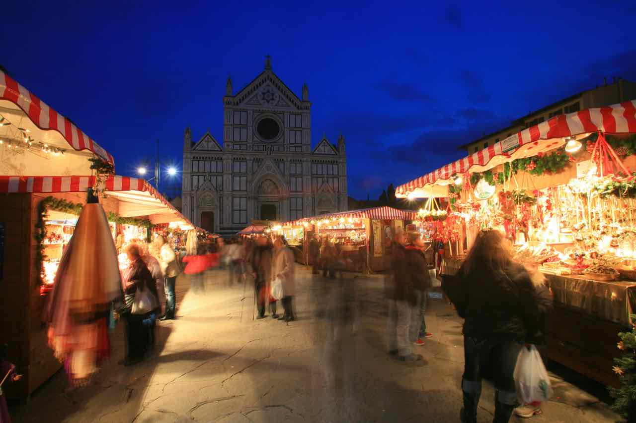 Christmas Traditions in Italy by Italy Perfect Florence Christmas market