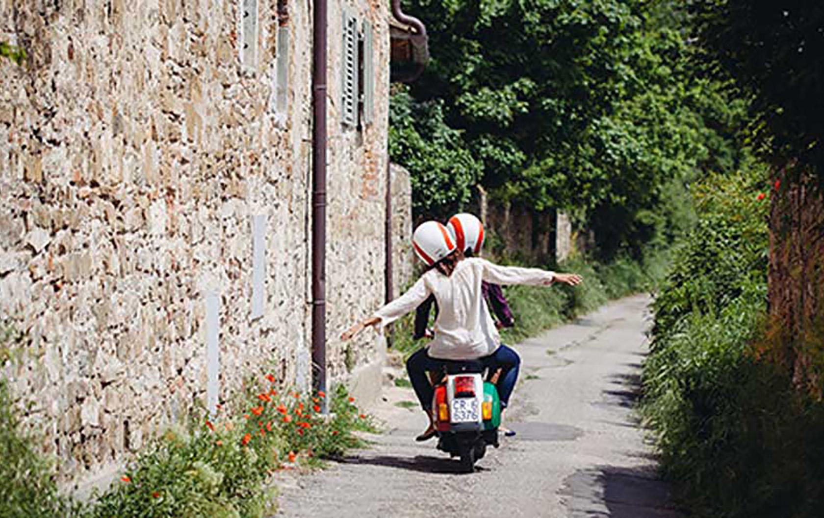 Taking a Vintage Vespa Tour of Tuscany