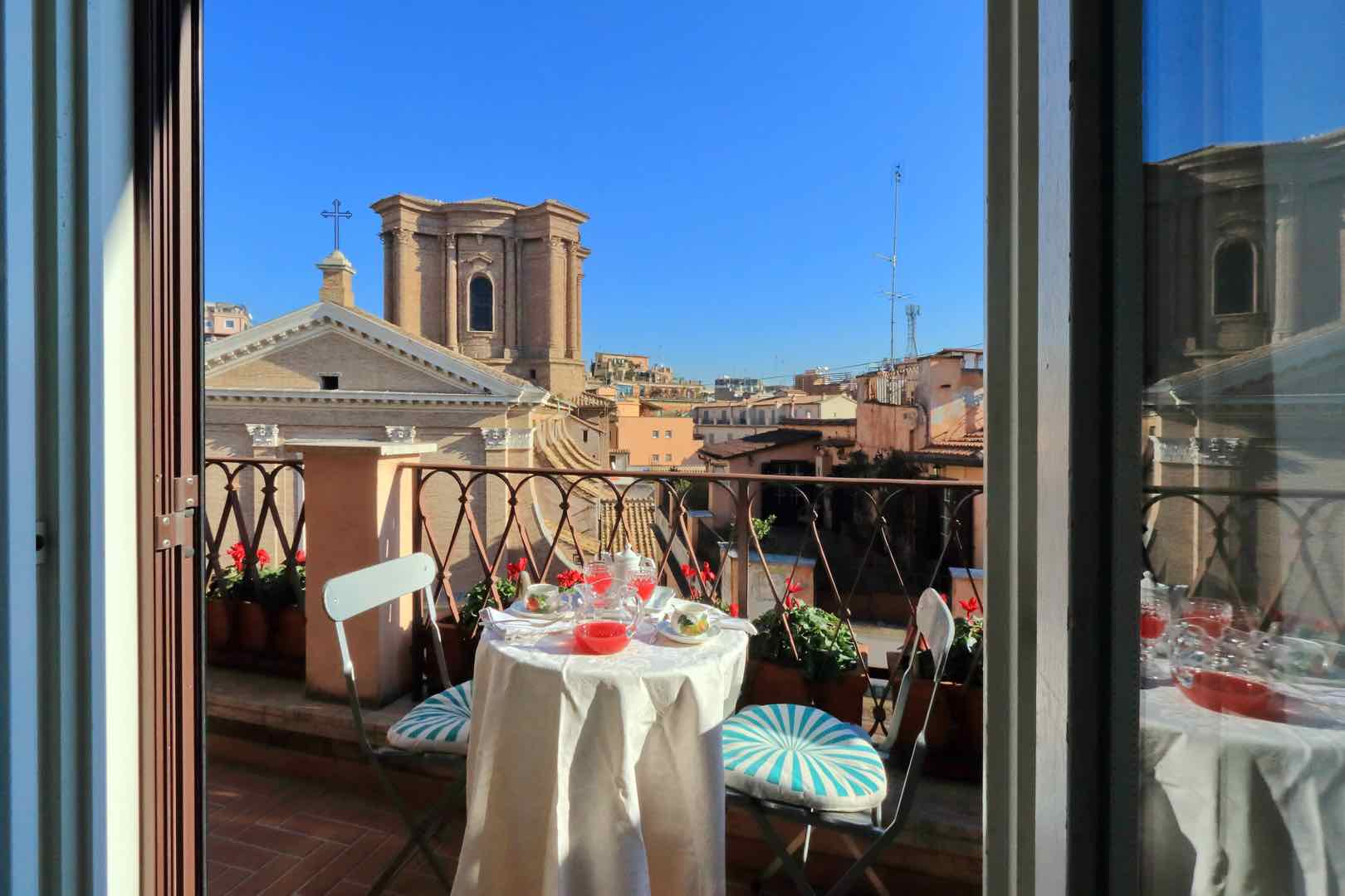 Romantic Experiences in Italy: Beyond the Gondola Ride by Italy Perfect Apartment Terrace in Rome