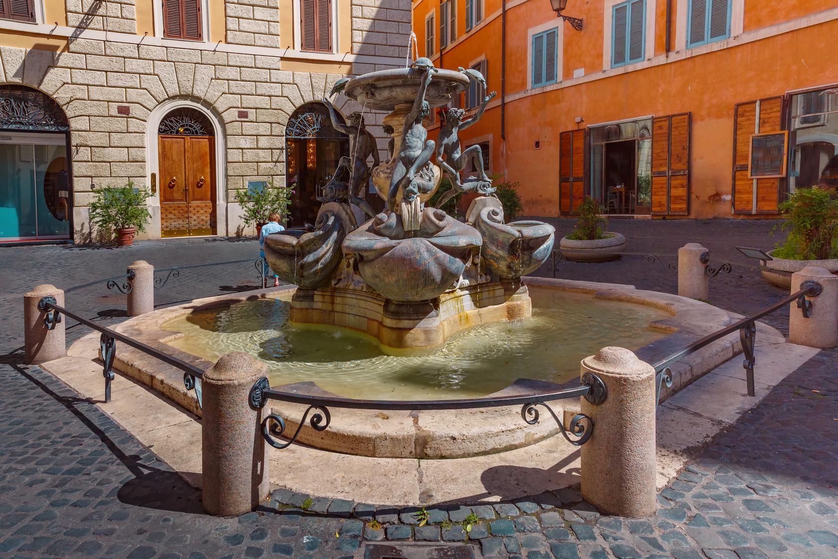 Piazza Mattei in Rome