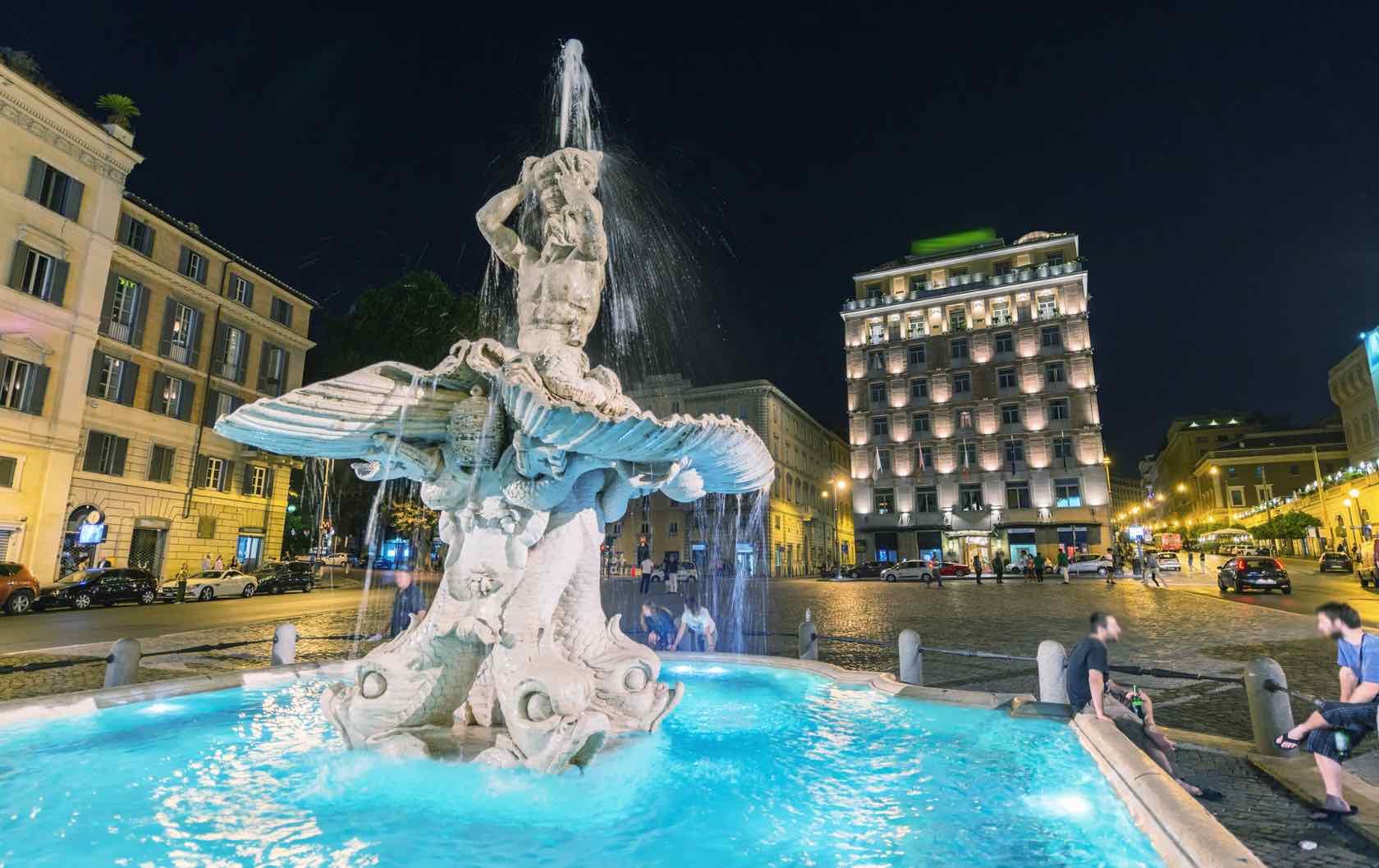 Triton Fountain Rome