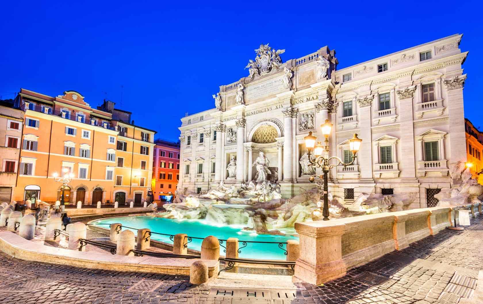 Trevi Fountain Rome