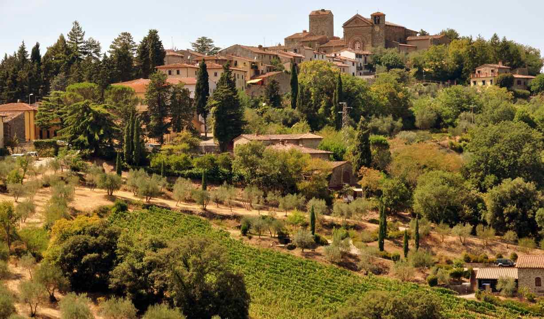 Panzano Italy