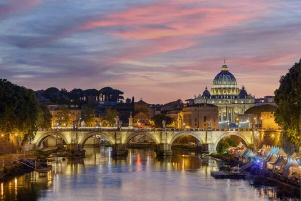 Vatican City Sunset