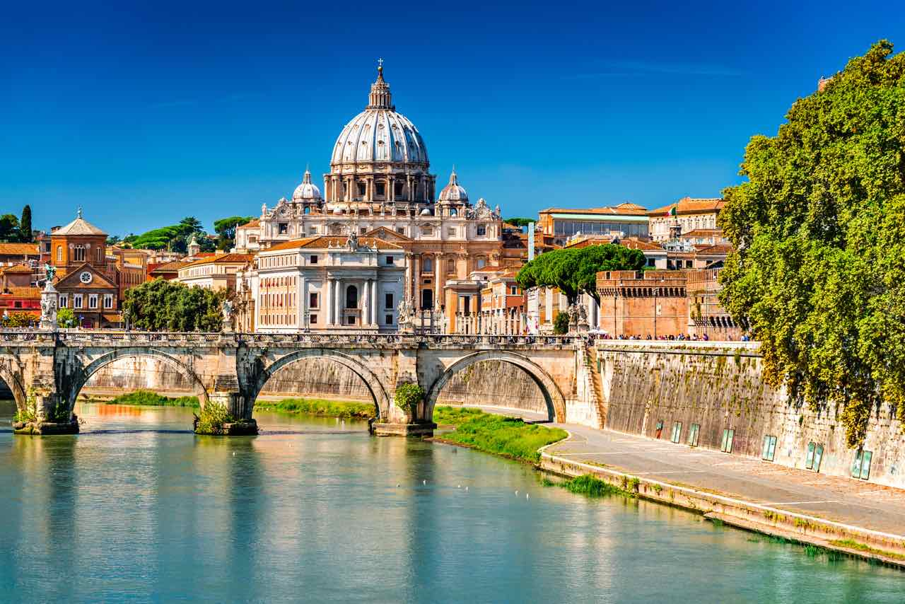Vatican City from the Tiber