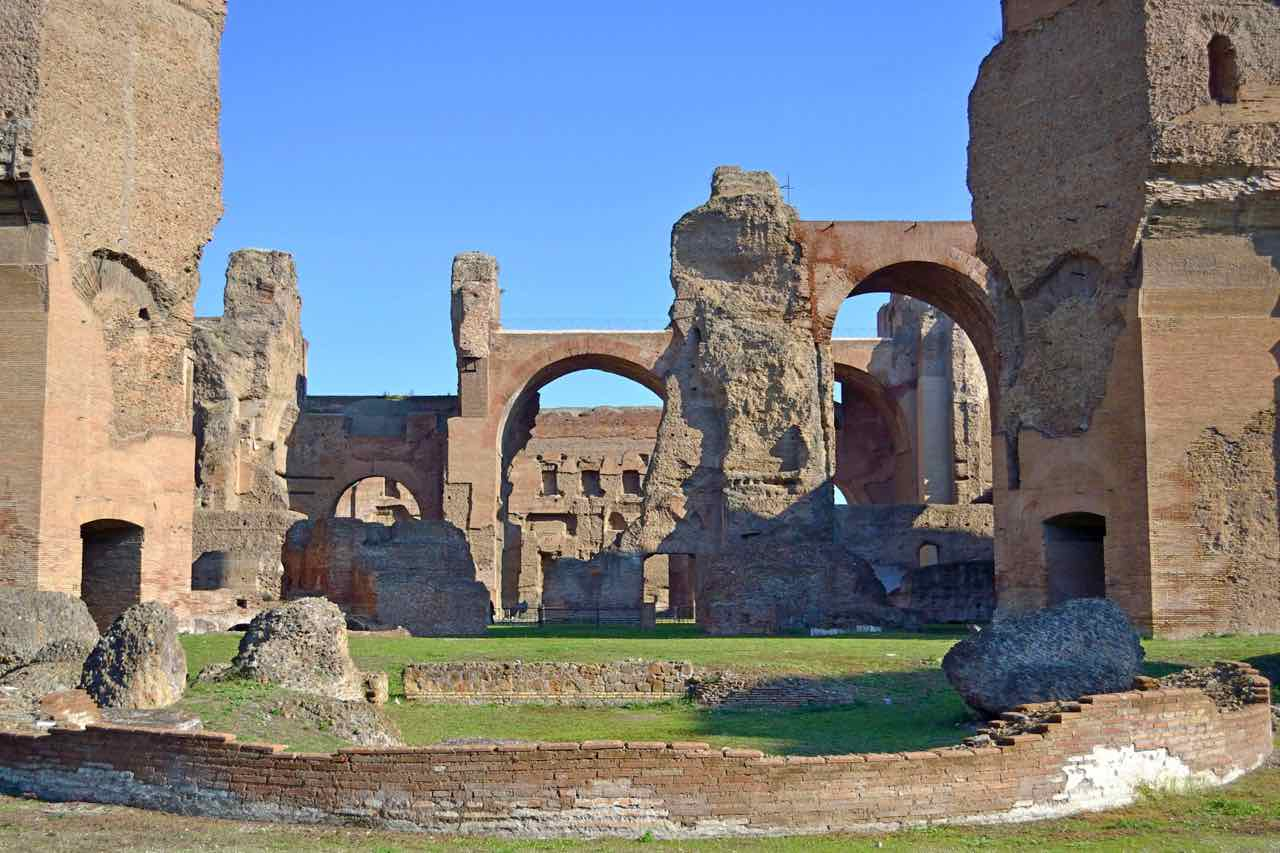 Roman baths in Rome