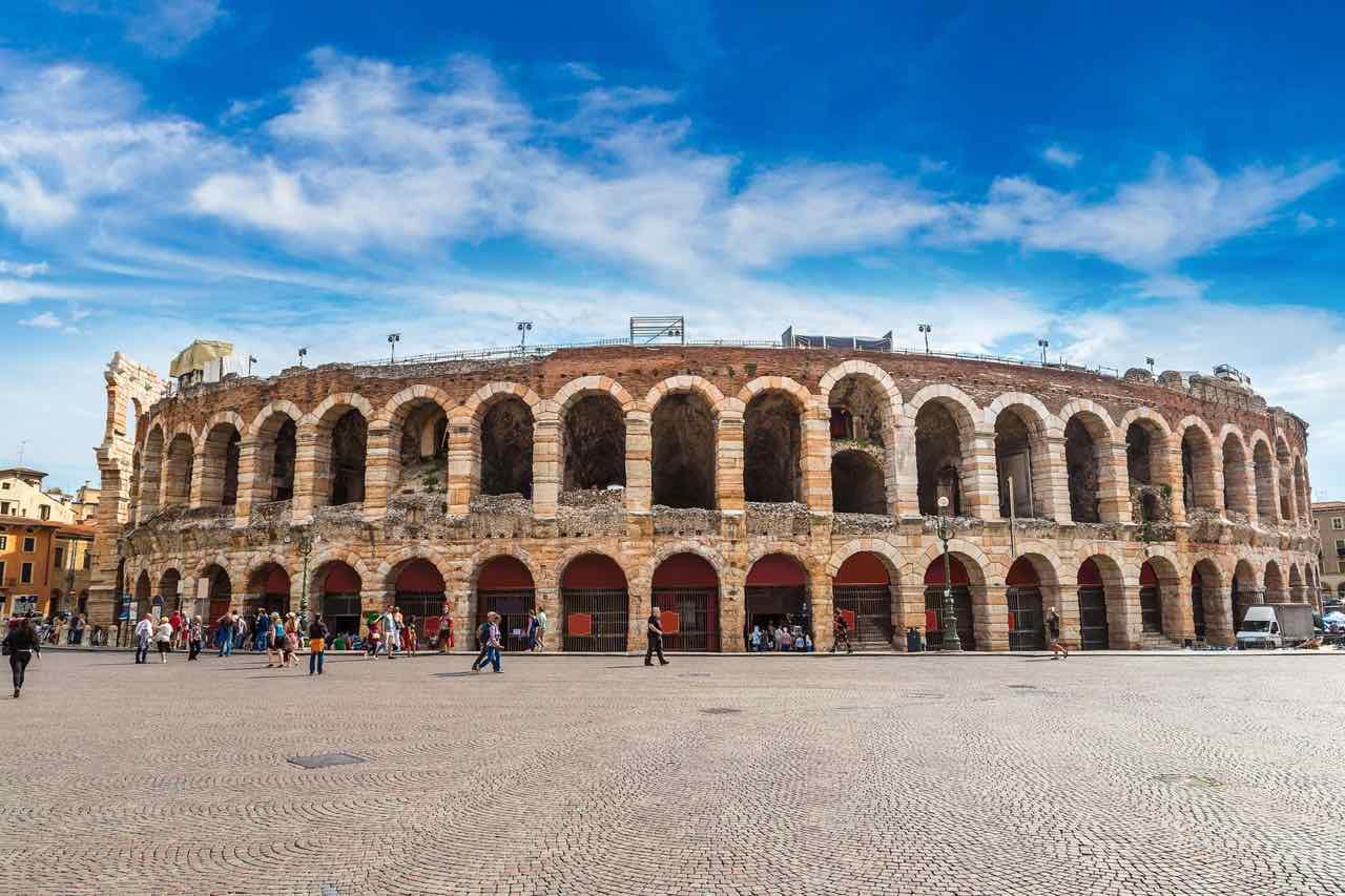 Roman theater in Tuscany