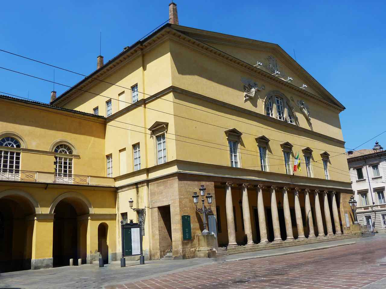 Theater in Parma Italy