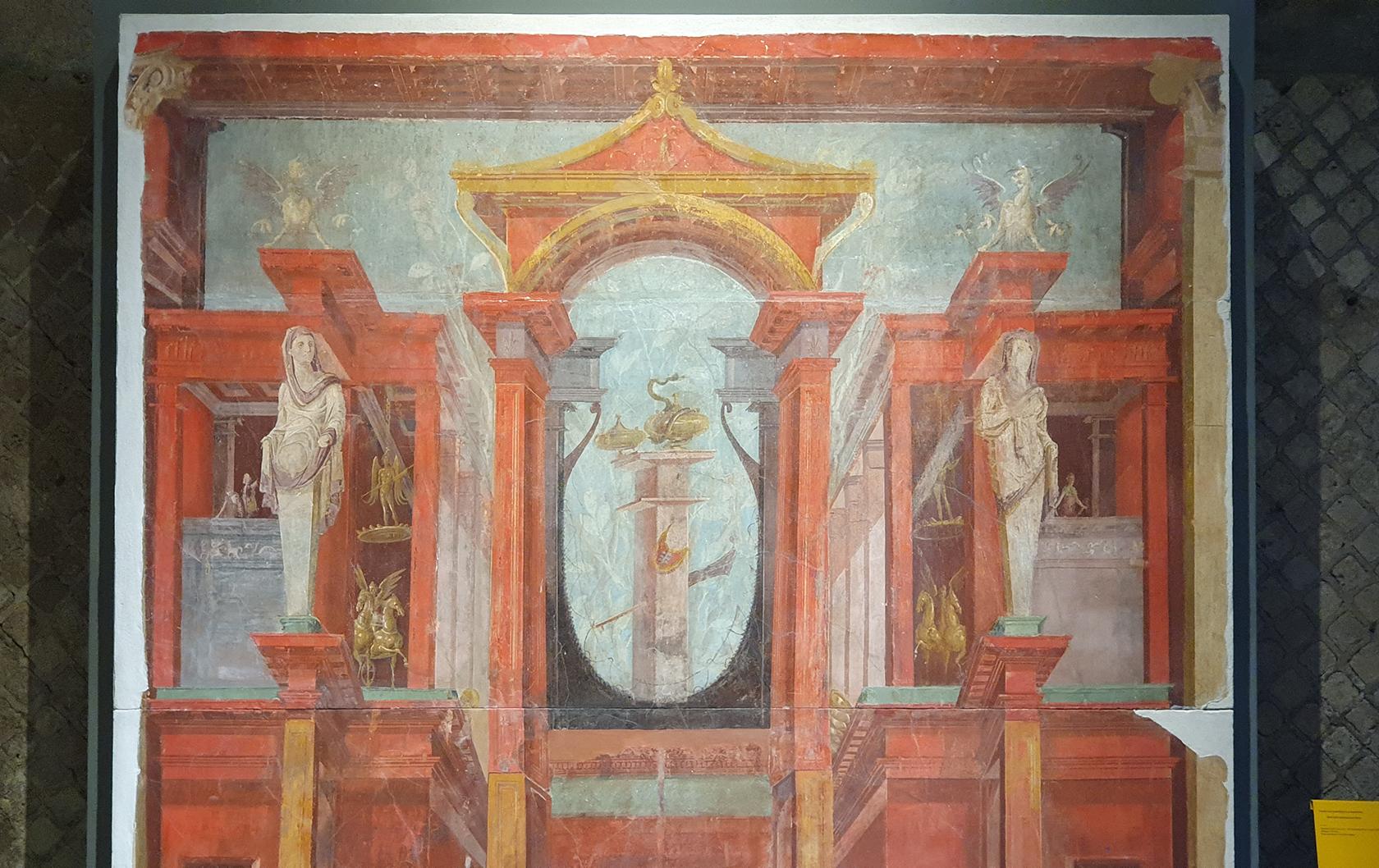 Pompeii Antiquarium fresco