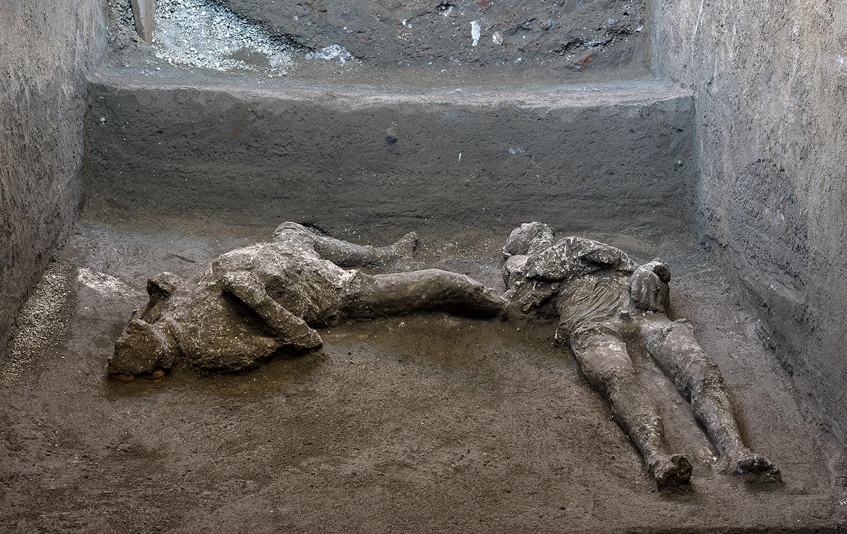 Pompeii plaster casts