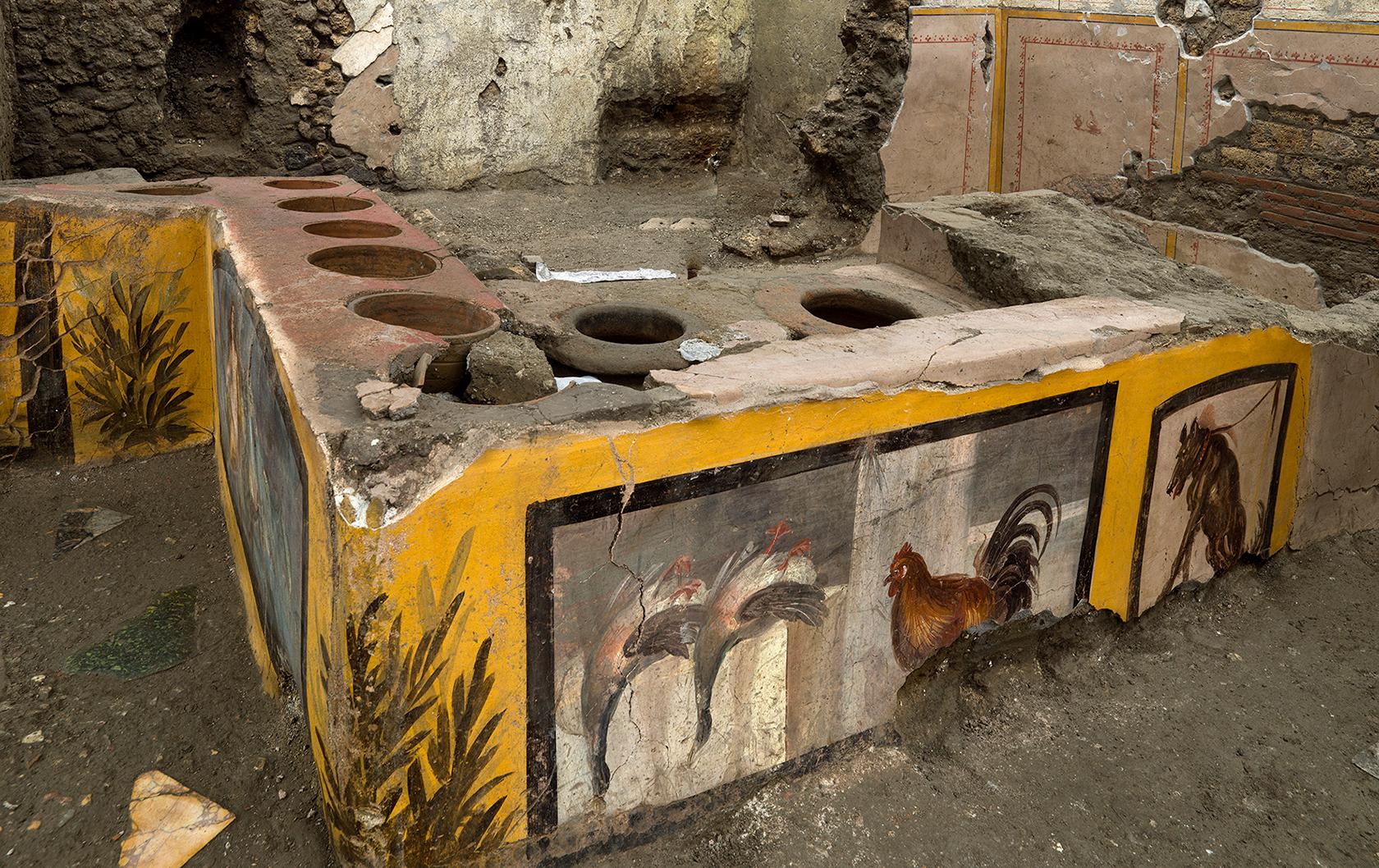 Pompeii ancient snackbar