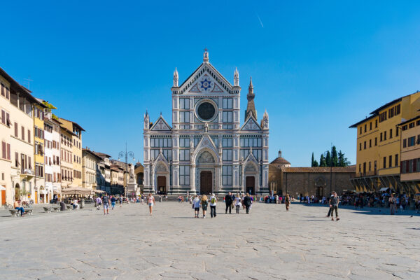 Piazza Santa Croce with the Basilica of Santa Croce