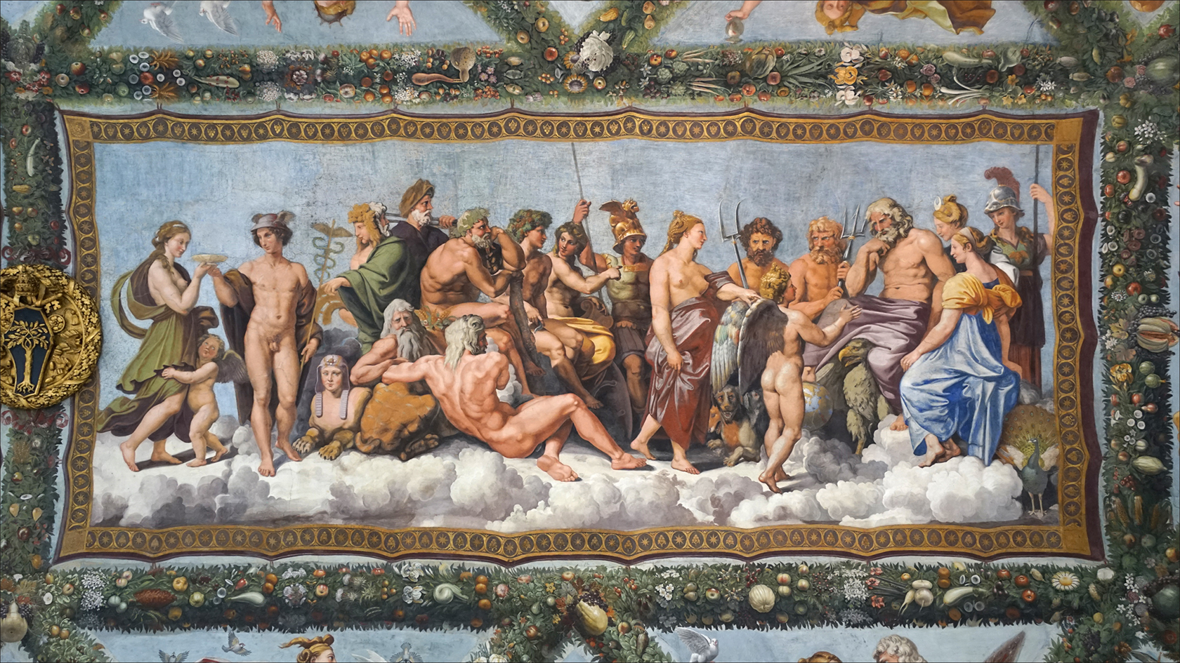 Villa Farnesina frescoes
